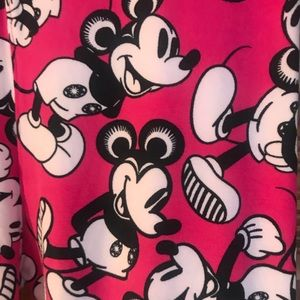 Lularoe OS Disney leggings